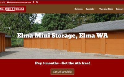 Welcome to the new Elma Mini Storage website